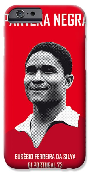 My Eusebio Soccer Legend Poster IPhone 6s Case by Chungkong Art