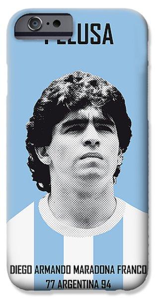 My Maradona Soccer Legend Poster IPhone 6s Case by Chungkong Art