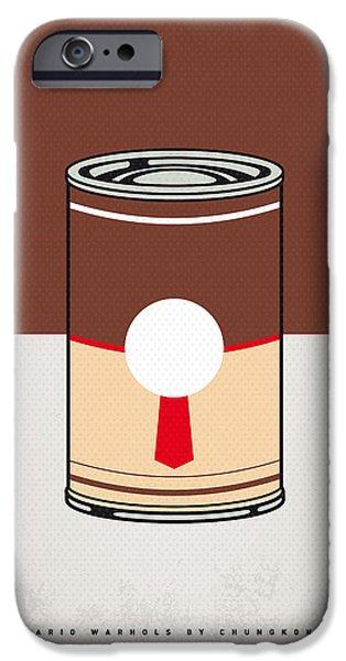 My Mario Warhols Minimal Can Poster-donkey Kong IPhone Case by Chungkong Art