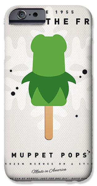My Muppet Ice Pop - Kermit IPhone 6s Case by Chungkong Art