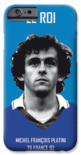 My Platini Soccer Legend Poster IPhone 6s Case by Chungkong Art