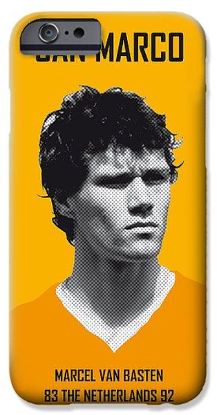 My Van Basten Soccer Legend Poster IPhone 6s Case by Chungkong Art