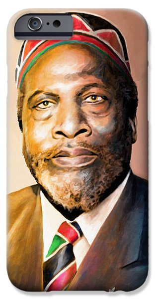 Mzee Jomo Kenyatta IPhone 6s Case by Anthony Mwangi
