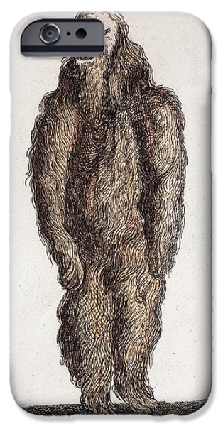 Naked Mandrake Plant IPhone Case by Paul D Stewart