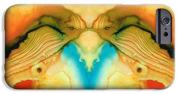 Namaste - Divine Art By Sharon Cummings IPhone Case by Sharon Cummings