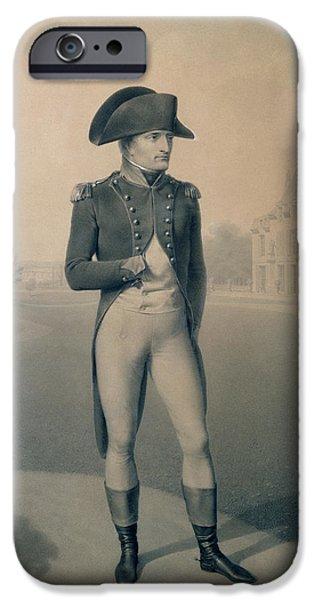 Napoleon Bonaparte  IPhone Case by Jean-Baptiste Isabey