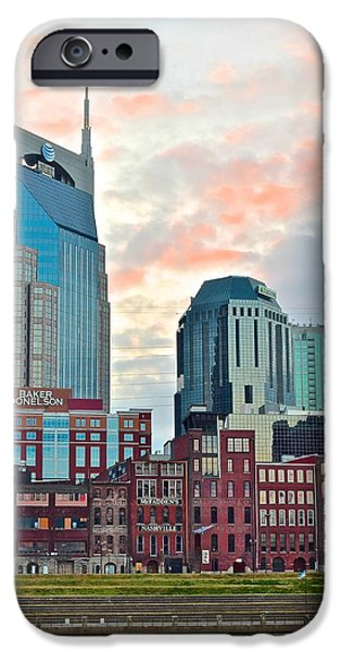 Nashville At Dusk IPhone Case by Frozen in Time Fine Art Photography
