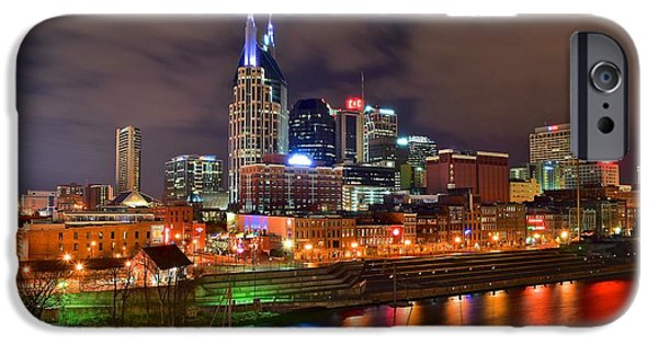 Nashville Is A Colorful Town IPhone Case by Frozen in Time Fine Art Photography