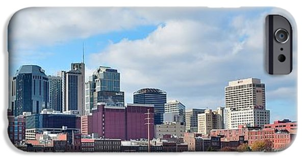 Nashville Panoramic View IPhone Case by Frozen in Time Fine Art Photography
