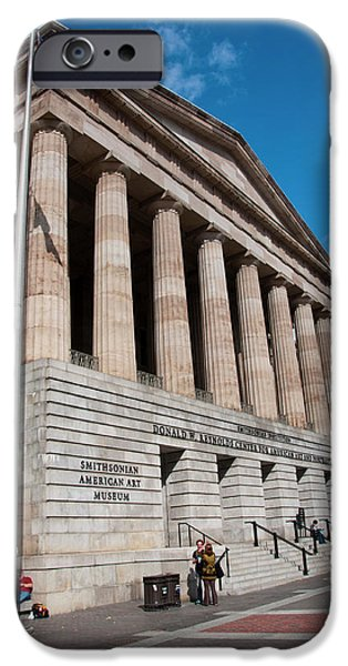 National Portrait Gallery, Smithsonian IPhone Case by Lee Foster