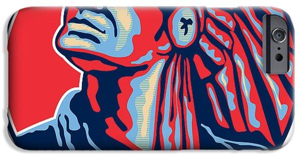 Native American Indian Chief Retro IPhone Case by Aloysius Patrimonio
