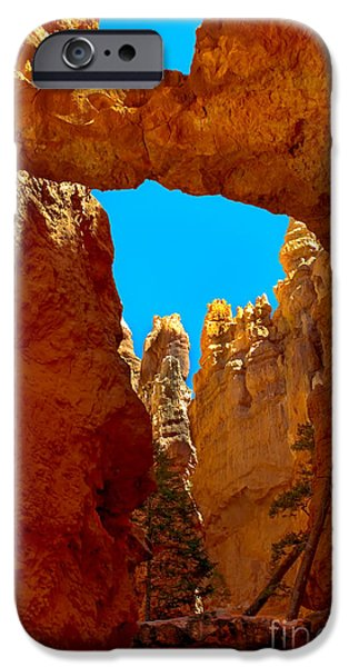Natural Bridge Bryce IPhone Case by Robert Bales
