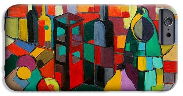 Nature Morte Cubiste IPhone Case by Mona Edulesco