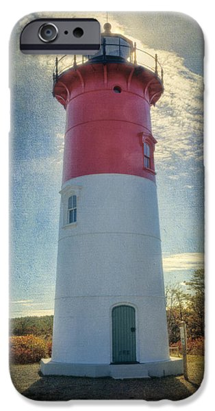 Nauset Lighthouse IPhone Case by Joan Carroll