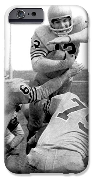 Navy Quarterback Staubach IPhone 6s Case by Underwood Archives