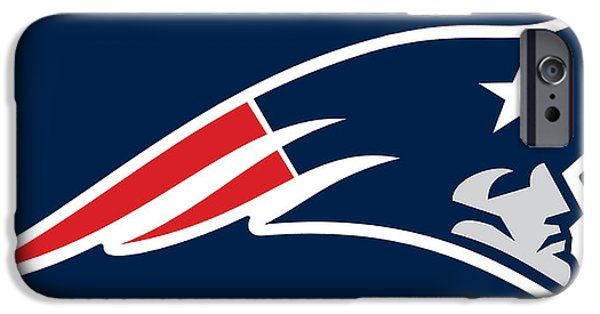 New England Patriots IPhone Case by Tony Rubino