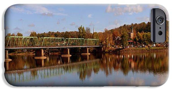 New Hope-lambertville Bridge, Delaware IPhone Case by Panoramic Images