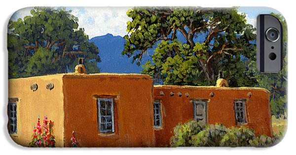 New Mexico Adobe IPhone Case by Randy Follis