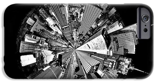 New York 2 Circagraph IPhone Case by Az Jackson