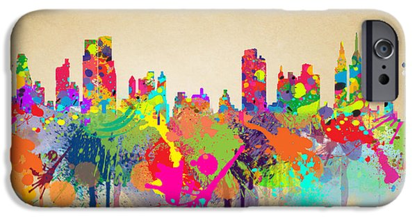 New York 5 IPhone 6s Case by Mark Ashkenazi