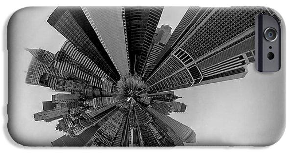 New York Circagraph 5 IPhone Case by Az Jackson