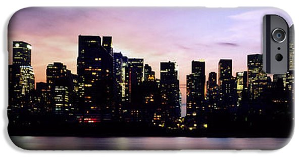 New York Skyline IPhone Case by Aged Pixel