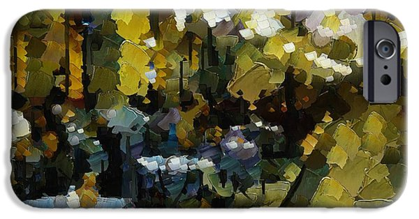 Night Cafe IPhone Case by Dragica  Micki Fortuna