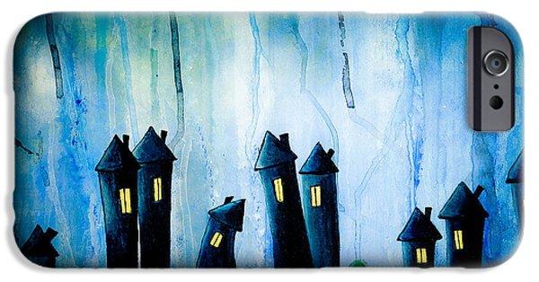 Night Owls IPhone Case by Nirdesha Munasinghe