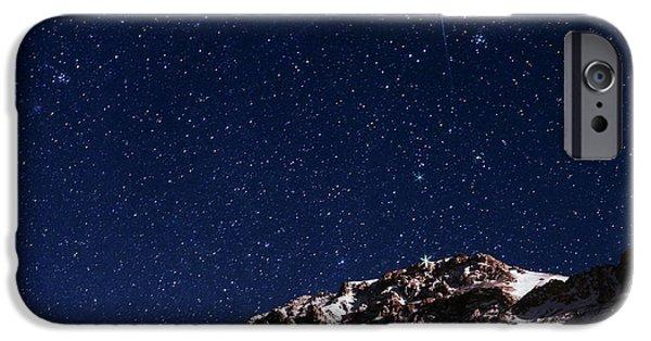 Night Sky Over The Alborz Mountains IPhone Case by Babak Tafreshi