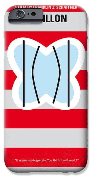 No098 My Papillon Minimal Movie Poster IPhone Case by Chungkong Art