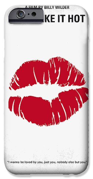 No116 My Some Like It Hot Minimal Movie Poster IPhone 6s Case by Chungkong Art