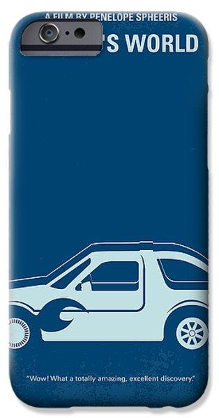 No211 My Waynes World Minimal Movie Poster IPhone Case by Chungkong Art