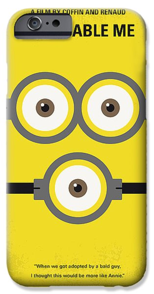 No213 My Despicable Me Minimal Movie Poster IPhone Case by Chungkong Art
