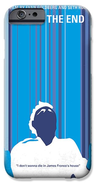 No220 My This Is The End Minimal Movie Poster IPhone Case by Chungkong Art