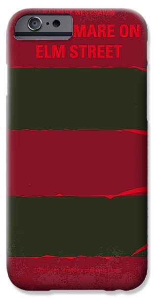 No265 My Nightmare On Elmstreet Minimal Movie Poster IPhone 6s Case by Chungkong Art