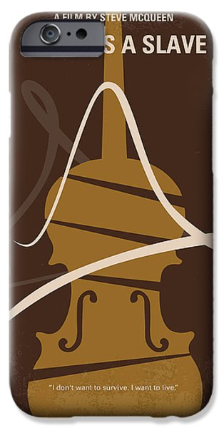 No268 My 12 Years A Slave Minimal Movie Poster IPhone Case by Chungkong Art