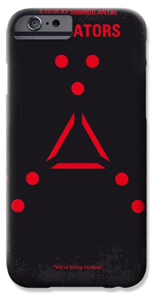 No289 My Predators Minimal Movie Poster IPhone 6s Case by Chungkong Art