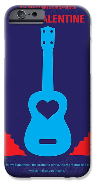 No379 My Blue Valentine Minimal Movie Poster IPhone Case by Chungkong Art