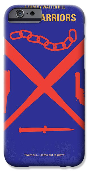 No403 My The Warriors Minimal Movie Poster IPhone Case by Chungkong Art
