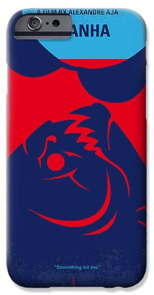 No433 My Piranha Minimal Movie Poster IPhone Case by Chungkong Art