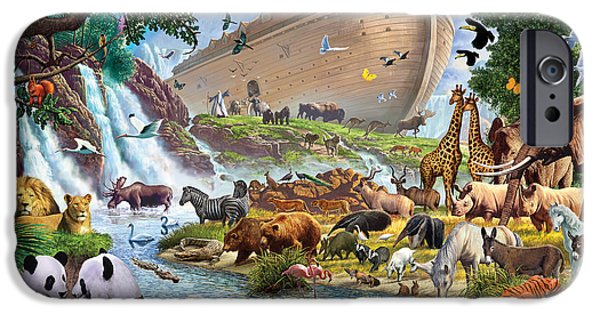 Noahs Ark - The Homecoming IPhone 6s Case by Steve Crisp