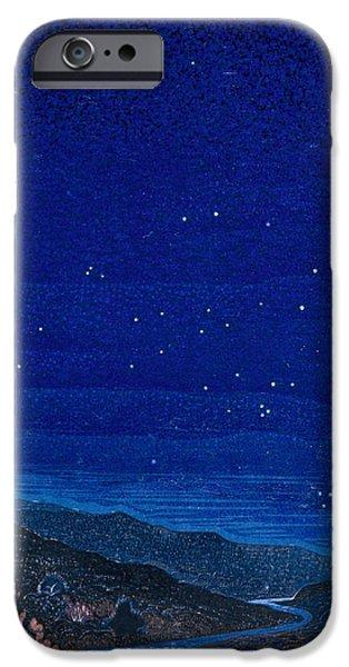 Nocturnal Landscape IPhone Case by Francois-Louis Schmied