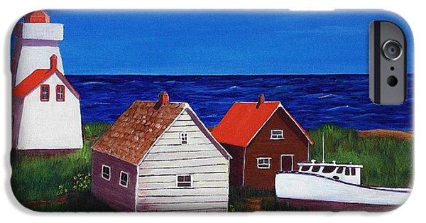 North Rustico - Prince Edwards Island IPhone Case by Anastasiya Malakhova