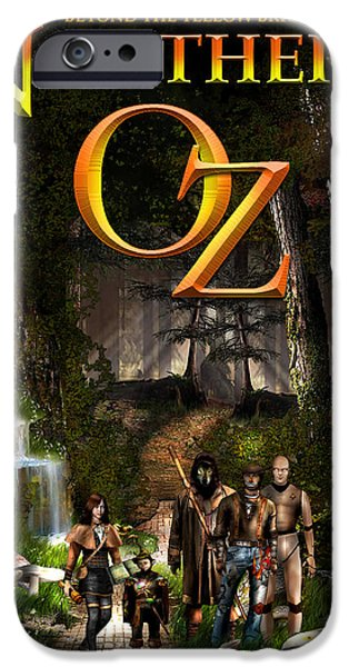 Northern Oz #47 IPhone Case by Vjkelly Artwork