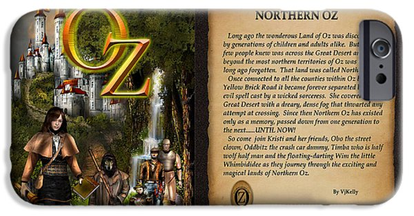 Northern Oz Cover And Intro 48 IPhone Case by Vjkelly Artwork