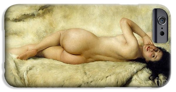 Nude IPhone Case by Giacomo Grosso