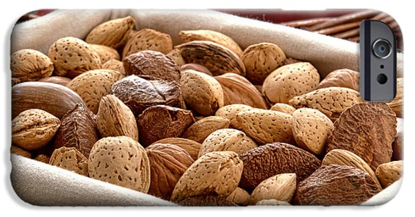 Nuts IPhone Case by Olivier Le Queinec