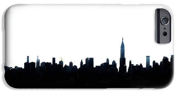 Nyc Silhouette IPhone 6s Case by Natasha Marco