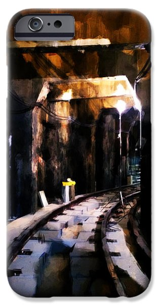 Nyc Subway IPhone Case by H James Hoff
