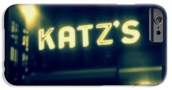 Nyc's Famous Katz's Deli IPhone 6s Case by Paulo Guimaraes